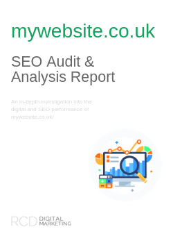Example SEO Audit Report Cover